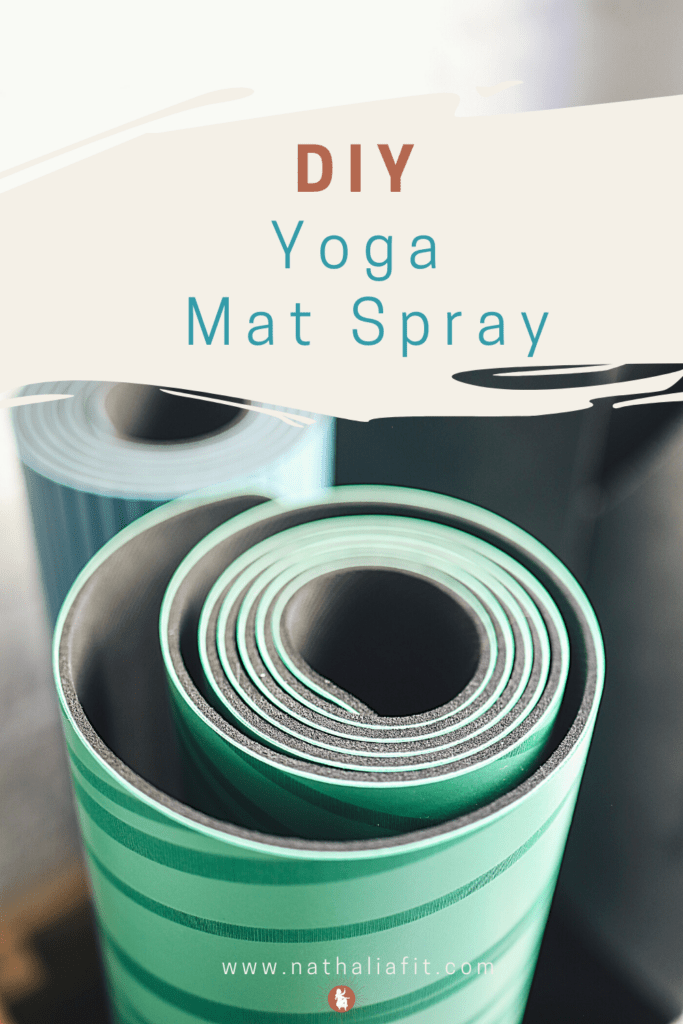 DIY Yoga Mat Spray