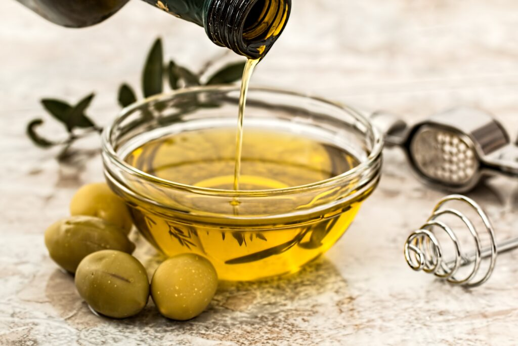 Olive Oil for hands, hair, & shaving