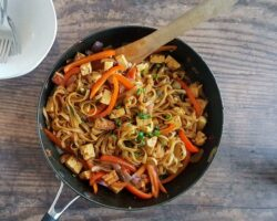 One-Pan Coconut Noodles