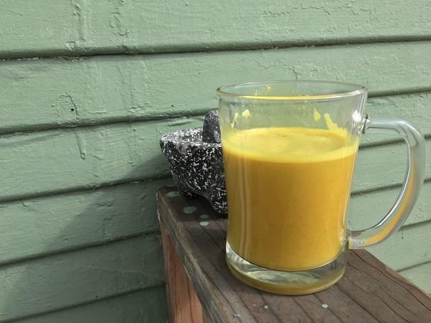 Vegetarian Anti-inflammatory Turmeric Latte